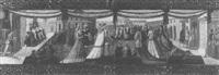 a wedding procession by giovanni di ser giovanni di (lo scheggia) simone