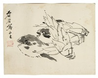 bamboo shoots and fish by xu gu