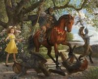 magical girl: animal cavalier by tokuhiro kawai