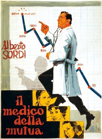 il medico della mutua preliminare per manifesto by enrico de seta
