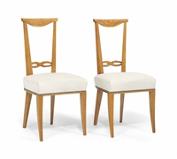 chairs (set of 4) by andré arbus