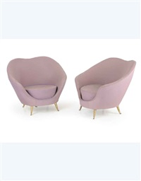 poltrone (armchairs)(pair) by federico munari