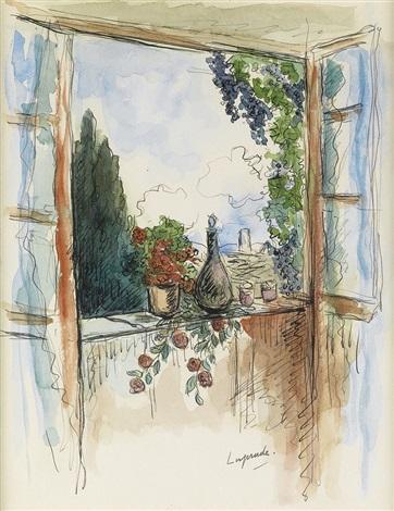 vue de la fenêtre by pierre laprade