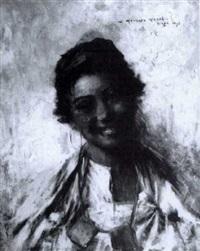 la jeune fille au sourire by georges gasté