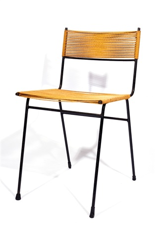 Four Cord Chairs By Clement Meadmore
