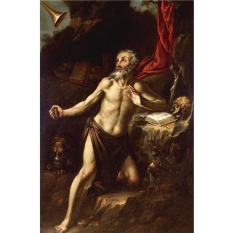 saint jerome by juan de valdés leal