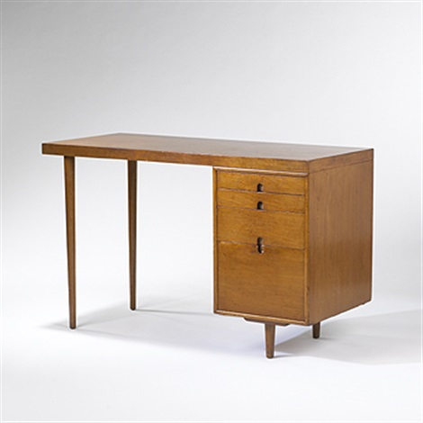organic design desk by eero saarinen and charles eames