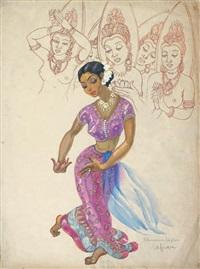 danseuse de ceylan by léa (madame) lafugie