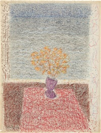 bouquet by the bay by milton avery