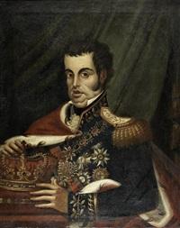 retrato de el-rei d. joão vi de portugal by portuguese school (19)