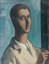 autoportrait by mario tozzi