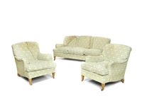 drawing room furniture (suite of 3) by lenygon and morant