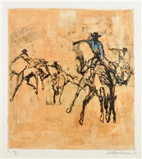 rodeo by leroy neiman
