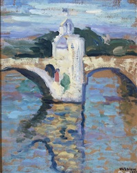bridge of avignon by william zorach
