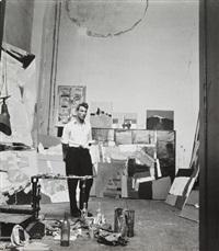 nicolas de stael dans son atelier by denise colomb
