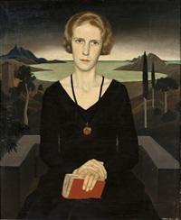 a portrait of marianne reyl by herbert reyl-hanisch