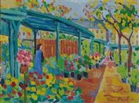 le marché aux fleurs by paco-fiol