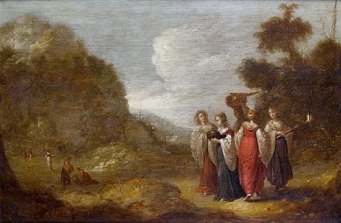 the vestal virgins by rombout van troyen