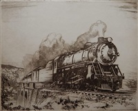 locomotive by otto august kuhler