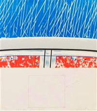 music school (from cold light series) by james rosenquist