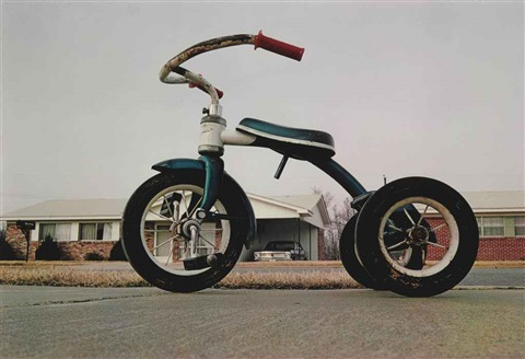 memphis (tricycle) by william eggleston