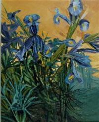 irises by alan cotton