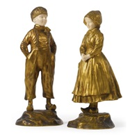 a dutch boy (+ a dutch girl; pair) by francis la monaca