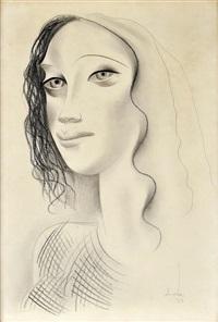 sem título (retrato de rapariga) by almada negreirors