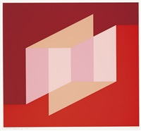 never before (portfolio of 12) by josef albers
