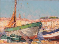 saint tropez by pierre paul emiot