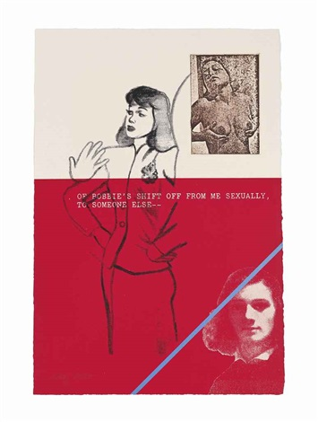 a day book by robert creeley set of 13 works by ronald brooks kitaj