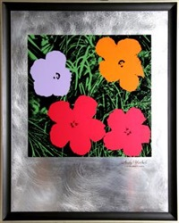flowers: master american contemporaries ii by andy warhol