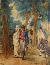 the promenade by giacomo campi