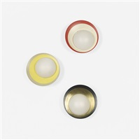 wall lamps (set of 3) by arteluce
