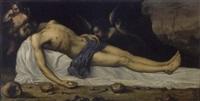 déploration sur le corps du christ by antonio de pereda y saldago