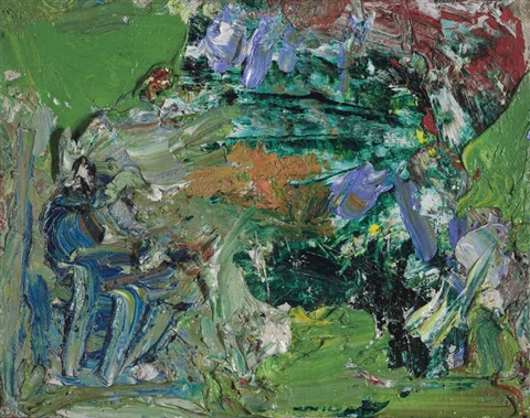 in the forest by hans hofmann