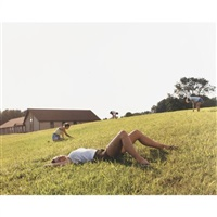 four leaf clovers (lexington, virginia) by justine kurland