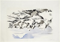 mountains by paul nash