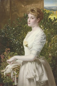portrait of julia smith caldwell by anthony frederick augustus sandys