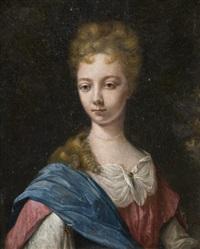 portrait de femme by arnold boonen