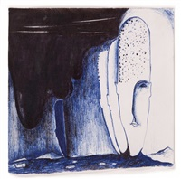 untitled no. 18 by enzo cucchi