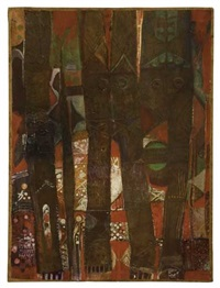 the bark of the hanging three by alexander skunder boghossian