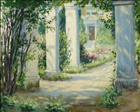 view of the garden by harriette bowdoin