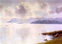 dublin hills from howth by george drummond fish