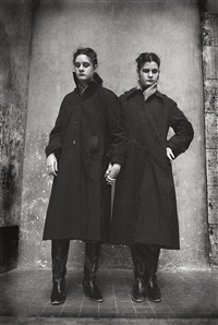 blind twins, saint-mandé by jane evelyn atwood
