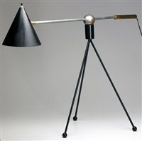 large table lamp by gilbert watrous