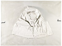 alto relieve blanco by antoni tàpies