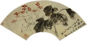 海棠 by zhang daqian