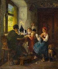 försterfamilie by heinrich leinweber