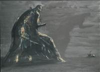 adonde no existe la muerte by josé bedia